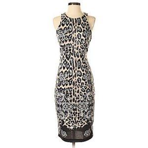 WAYF - Sleek Sexy Animal Print Dress